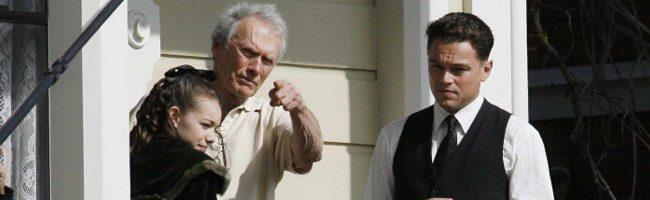 Leonardo Dicaprio y Clint Eastwood en J. Edgar