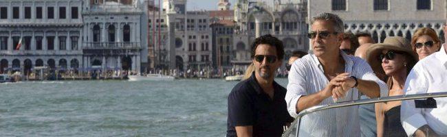 George Clooney en Venecia