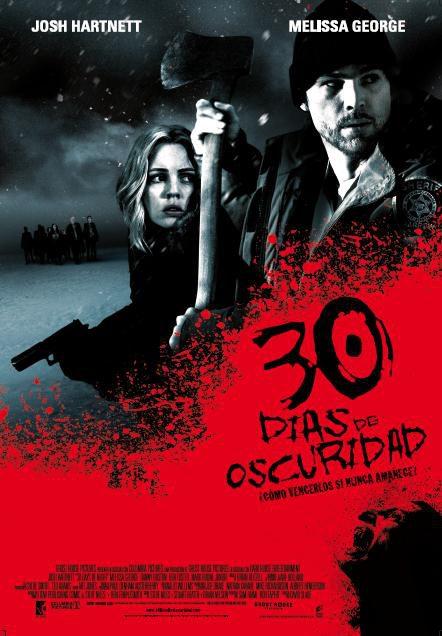 Cartel definitivo y tráiler de '30 días de oscuridad'