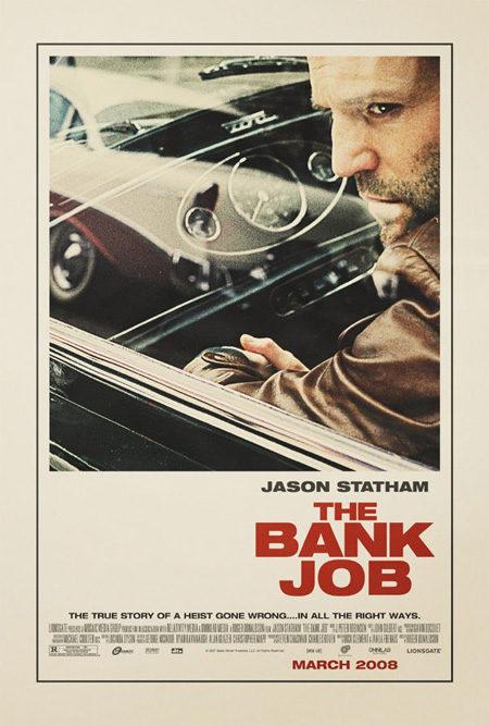 Primer cartel oficial de 'The bank job'