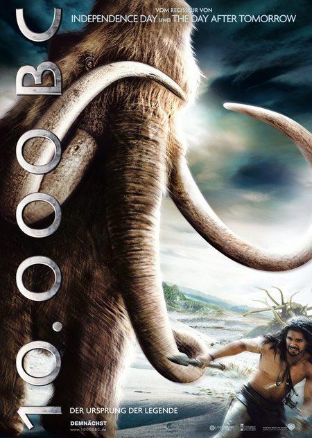4 pósters internacionales de '10.000 BC'