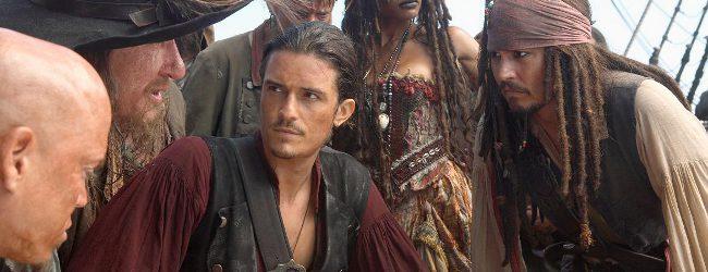 Orlando Bloom en Piratas del Caribe