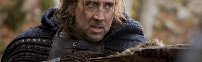 Nicolas Cage en 'En tiempo de brujas'