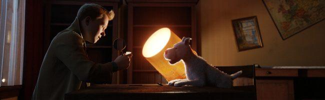 Tintín y Milú en 'Las aventuras de Tintín: el secreto del unicornio'
