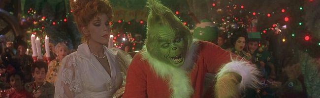 El Grinch con Taylor Momsen, Christine Baransky y Jim Carrey