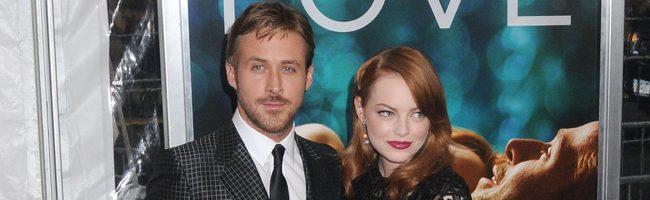 Ryan Gosling y Emma Stone en la premiere de 'Crazy, stupid, love'