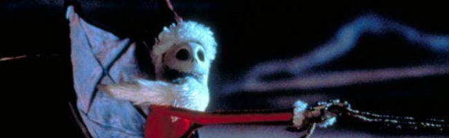 Jack suplanta a Santa Claus en el film de Tim Burton