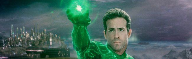 Ryan Reynolds como Linterna verde
