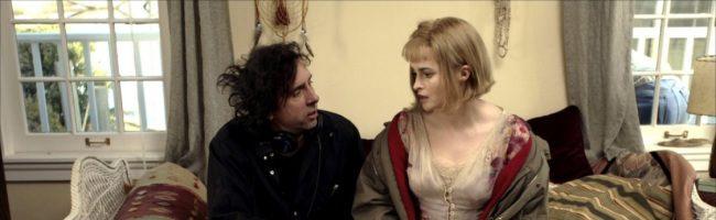 Burton dirigiendo a su esposa en 'Big Fish'