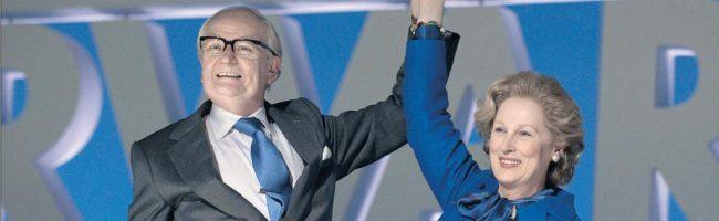 Streep y Broadbent en 'La dama de hierro'