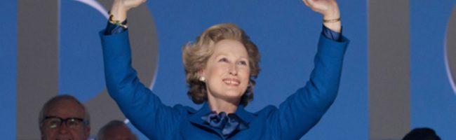 Streep como Margareth Thatcher