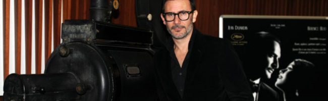Hazanavicius presentando The Artist