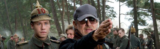 Spielberg rodando Caballo de Batalla