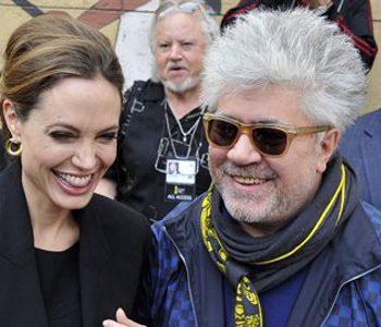 Angelina Jolie y Pedro Almodovar