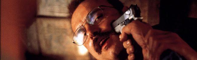 Joe Pantoliano amenazado en 'Memento'