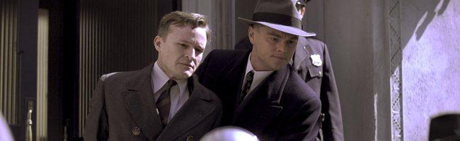DiCaprio tras realizar una detención en J.Edgar