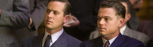 Armie Hammer y DiCaprio en J.Edgar