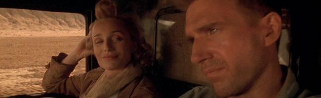 Kristin Scott Thomas y Ralph Fiennes en El paciente inglés