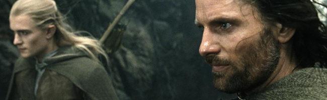 Orlando Bloom y Viggo Mortensen en 'El retorno del rey'