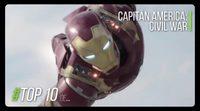 Top 10: Curiosidades de 'Capitán América: Civil War'