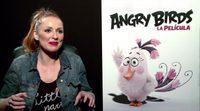 Featurette 'Angry Birds. La película': Cristina Castaño