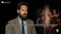 """Paul Rudd: """"En 'Ant-Man y la Avispa' voy a saltar de la película al cine"""""""