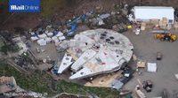 El Halcón Milenario en el rodaje de 'Star Wars: Episodio VIII'