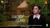 """Lucy Hale: """"'Fantasy Island' es una montaña rusa llena de giros inesperados"""""""
