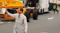 Brad Pitt rueda 'Allied' en Gran Canaria