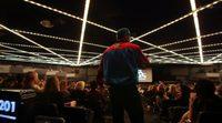 Actuación de Vanilla Ice en la premiere de 'Ninja Turtles: Fuera de las sombras'