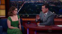 Entrevista Emilia Clarke ('Juego de Tronos') en The Late Show