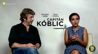 """Inma Cuesta ('Capitán Kóblic'): """"Este viaje me ha hecho crecer mucho personalmente'"""