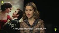 """Emilia Clarke: """"Después de bastantes castings encontraron la combinación entre Sam y yo"""""""