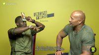 Kevin Hart y Dwayne Johnson juegan con nosotros al '¿Quién soy?'