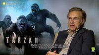"""Christoph Waltz: """"No tienes la obligación de hacer películas de una magnitud o un género determinado"""""""