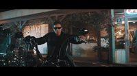 Remake escena 'Terminator 2: El juicio final' hijo Arnold Schwarzenegger