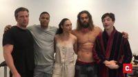 """Campaña """"Rezpect Our Water"""" de los actores de 'La Liga de la Justicia. Parte 1'"""