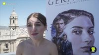 """María Valverde: """"El rodaje de 'Gernika' era muy cansado"""""""