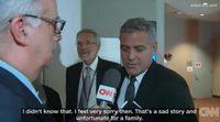 Así se enteró George Clooney del divorcio de Brad Pitt y Angelina Jolie