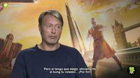 """Mads Mikkelsen: """"En las películas estadounidenses me verás como el villano, en las europeas verás otra cosa"""""""