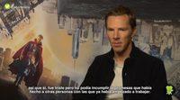 """Benedict Cumberbatch: """"Tanta fe en mí como 'Doctor Strange' fue una gran motivación"""""""