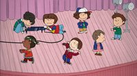 'Stranger Things' al estilo 'Carlitos y Snoopy'
