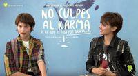 """Verónica Echegui: """"'No culpes al karma de lo que te pasa por gilipollas' irradia buen karma, buena honda"""""""