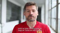 Nikolaj Coster-Waldau, Jaime Lannister, promociona HBO España