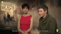 """Eddie Redmayne ('Animales fantásticos y dónde encontrarlos'): """"Será muy emocionante encontrarnos con personajes de 'Harry Potter"""""""