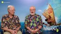 """Ron Clements y John Musker: """"El océano de 'Vaiana' es como la alfombra de Aladdin"""""""