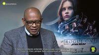 """Forest Whitaker: """"He estudiado mi personaje de 'Rogue One' para crear recuerdos y dolor en mi cuerpo de diferentes batallas"""""""