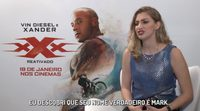 Vin Diesel avergüenza a Carol Moreira en una entrevista