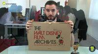 'Los Archivos de Walt Disney': Unboxing del libro más mágico de Disney