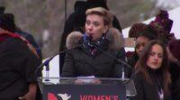 El emotivo discurso de Scarlett Johansson en la Women's March